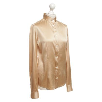 Dolce & Gabbana Camicetta di seta beige