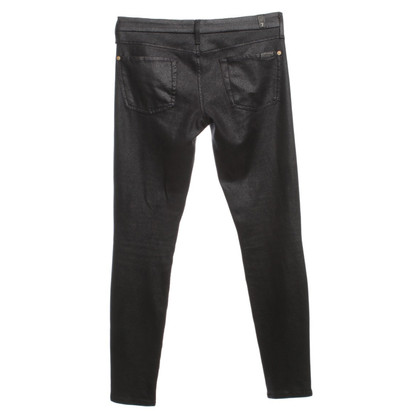 7 For All Mankind trousers with coated pattern
