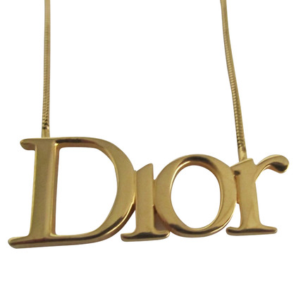 Christian Dior Ketting in goud
