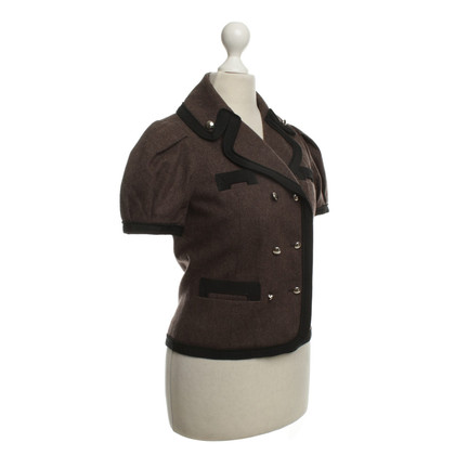 Marc by Marc Jacobs Short sleeve jacket in Brown