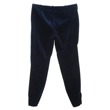 Ralph Lauren Velvet trousers in dark blue
