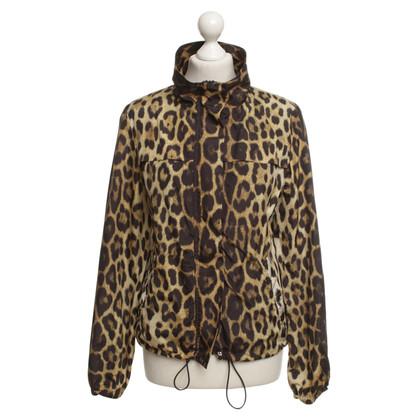 Moschino Giacca con motivo leopardo