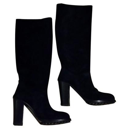 L'autre Chose Boots in black suede