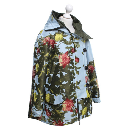Moncler Jacket with floral pattern