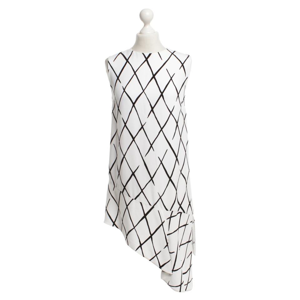 Balenciaga Dress in black / white