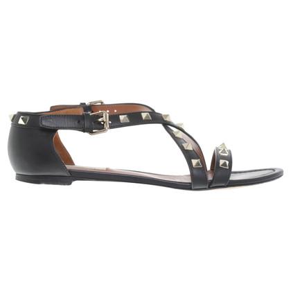 Valentino Sandals in black