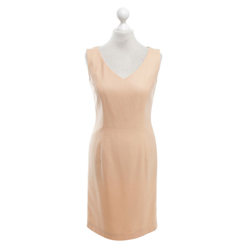 Escada Kleid in Apricot - Second Hand Escada Kleid in Apricot ...