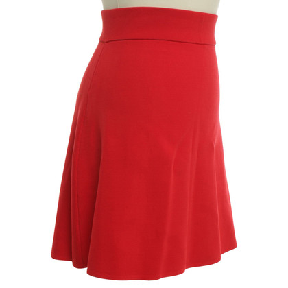 Reiss skirt in red