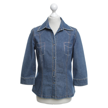 Escada Jeans blouse in blue