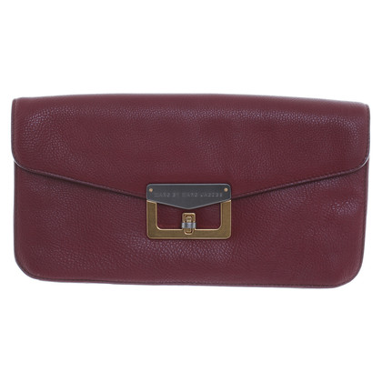 Marc by Marc Jacobs Envelop clutch in Bordeaux