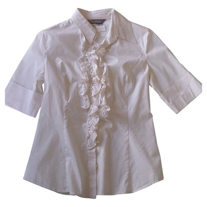 Max Mara Weißes Hemd