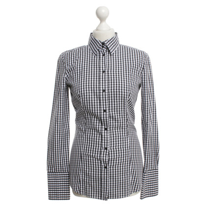 Hugo Boss Blouse with check pattern