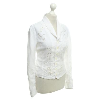 Ralph Lauren giacca leggera in bianco