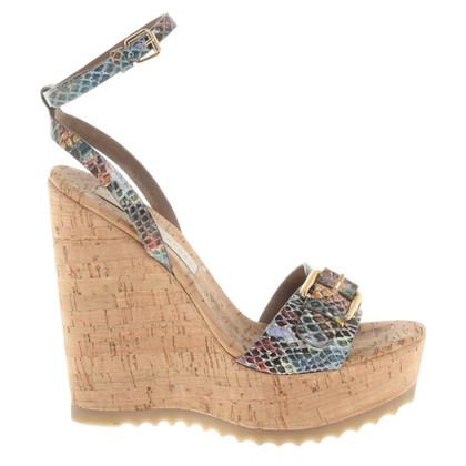 Stella McCartney Sandals with wedge heel