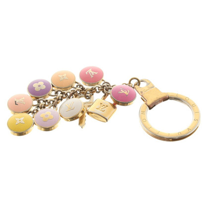 Louis Vuitton Gold-colored Keychains