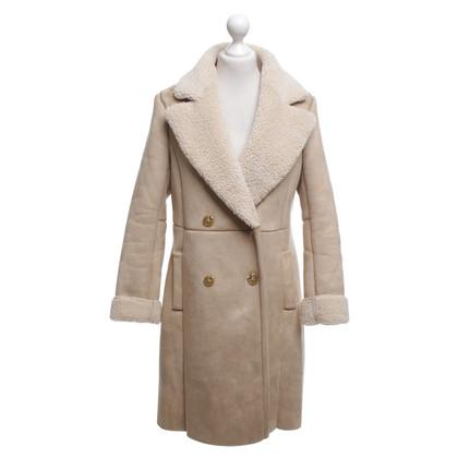 Other Designer Rino & Pelle - fur coat in beige