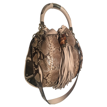 """Gucci """"Indie Bag"""" made of python leather"""