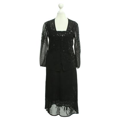 Escada Driedelig pak in zwart