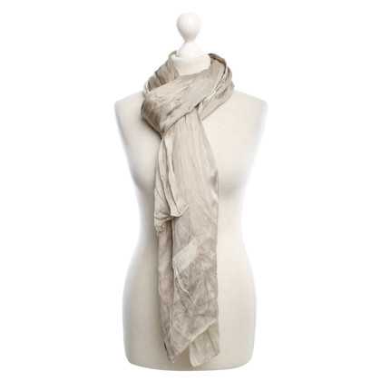 Burberry Scarf with large check pattern