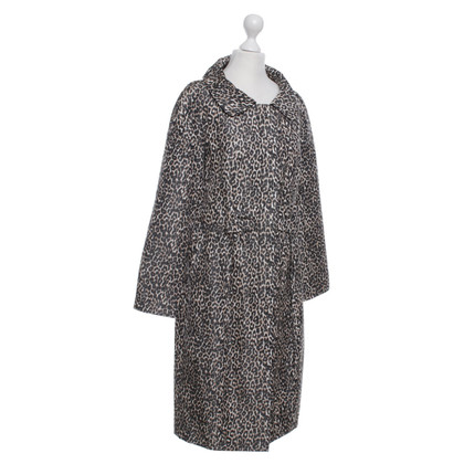 Paule Ka Coat with animal print