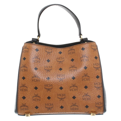 MCM Hand bag with embossed logo