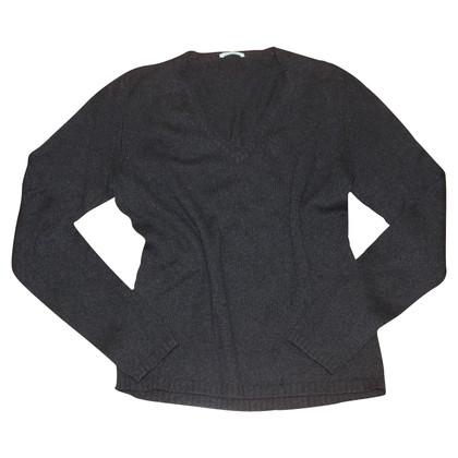 Malo Kaschmir-Pullover in Schwarz