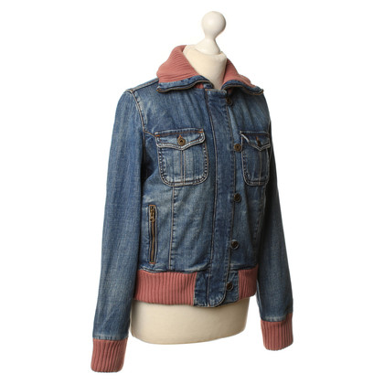 Woolrich Giacca di jeans con nervatura