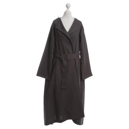 Yohji Yamamoto Trenchcoat in Grau