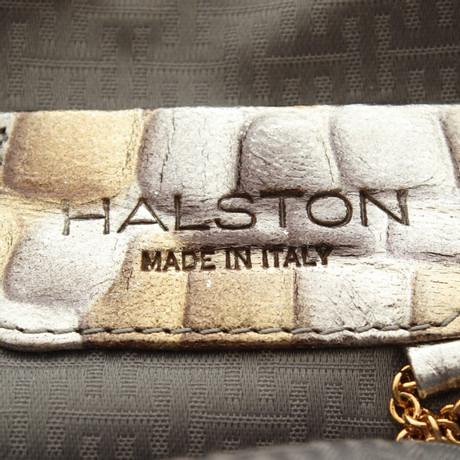 Halston Heritage Umhängetasche in Metallic Silbern Billig Neueste Billig Authentische Billig Für Billig Große Auswahl An Zum Verkauf Billig Verkauf Bestseller KRvuHs5GCa