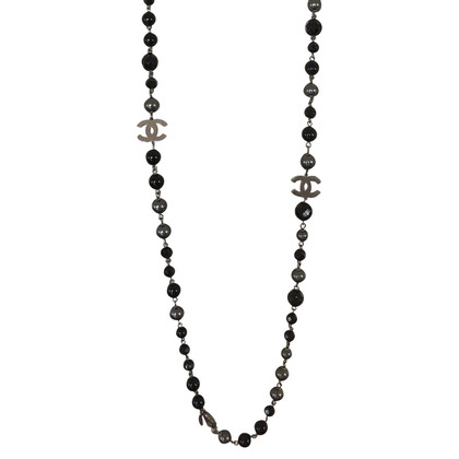 Chanel Black Necklace