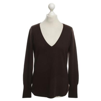 Fabiana Filippi Cashmere Sweater in Brown