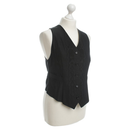 Jil Sander Vest in black