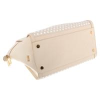 Hugo Boss Handbag in beige / white