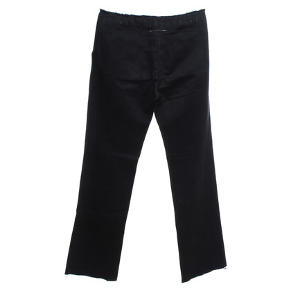 Maison Martin Margiela trousers in black