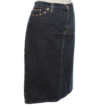 D&G Denim skirt with studs