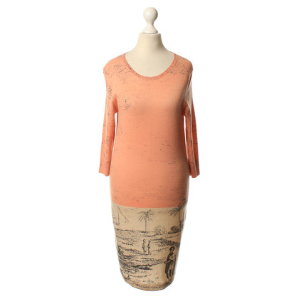 Iris von Arnim Cashmere dress with motif