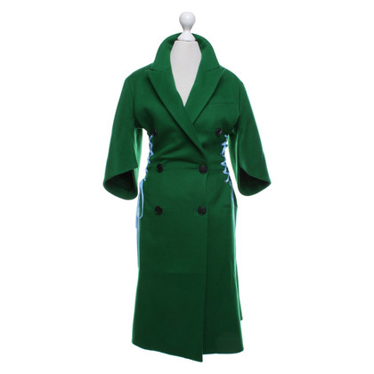 Christian Dior Coat in green