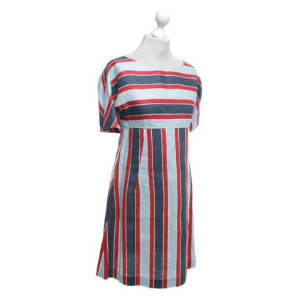 Dolce & Gabbana Linen dress with striped pattern