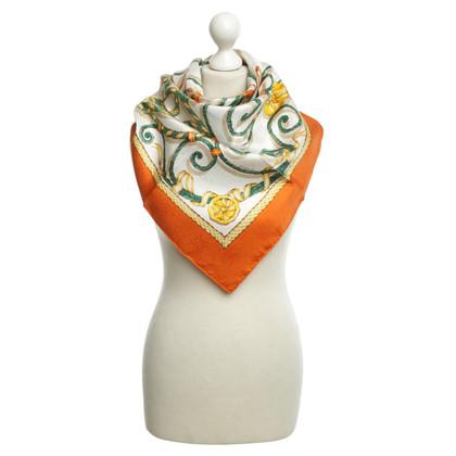 Hermès Seidentuch mit Printmotiv