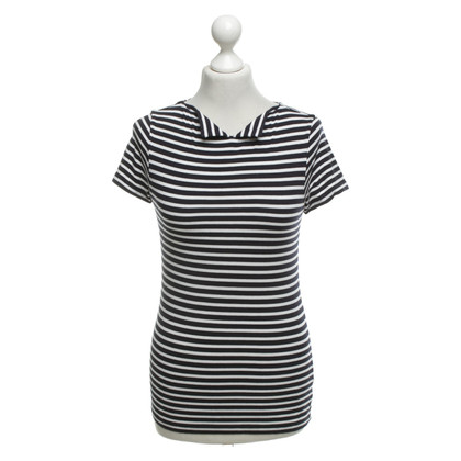 Hobbs T-shirt with stripe pattern