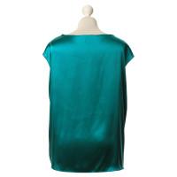 L.K. Bennett Silk top Green