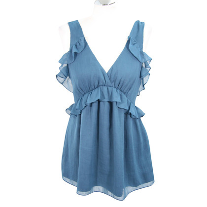 French Connection Top in blauw