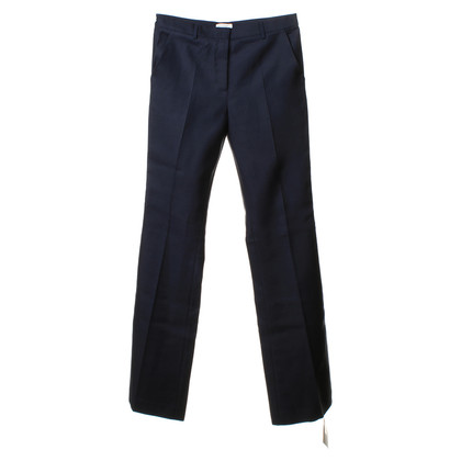 Vionnet Trousers in dark blue