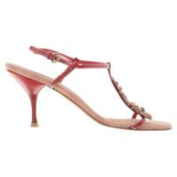Miu Miu Sandals with flower application