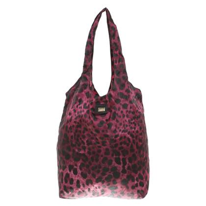 Dolce & Gabbana Shopper con stampa leopardo