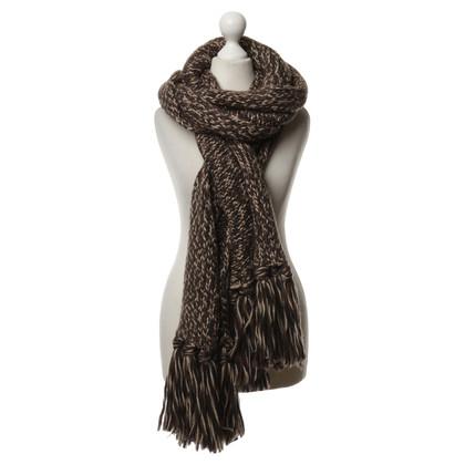 Dolce & Gabbana Gebreide sjaal met logo