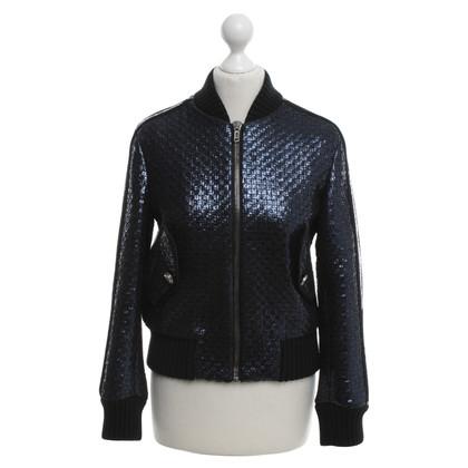 MSGM Woven bomber jacket