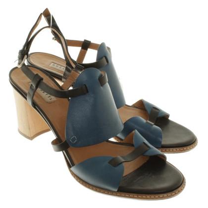 Fratelli Rossetti Sandaletten in Blau/Schwarz
