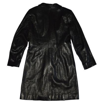 Vent Couvert manteau de cuir