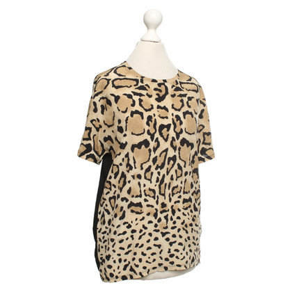 Gucci Top con motivo leopardo